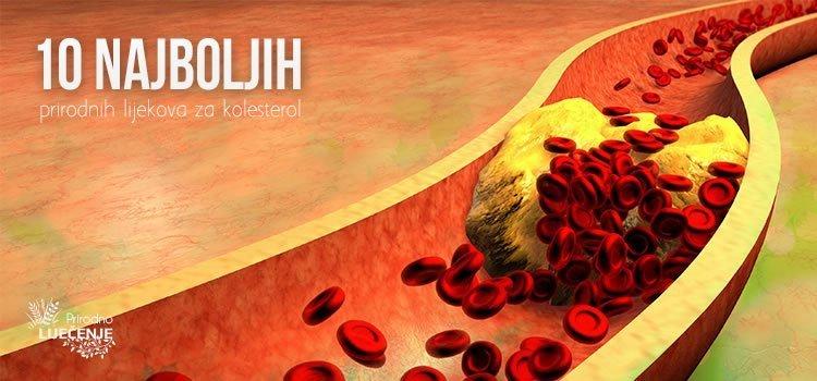 Prirodni lijekovi za kolesterol