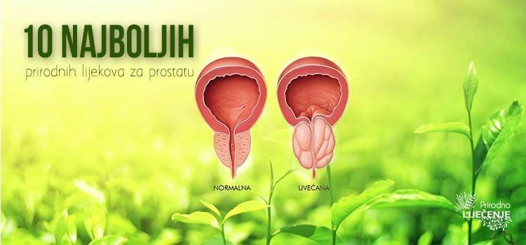Prirodni lijekovi za prostatu